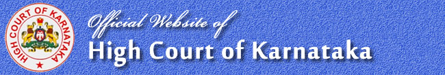 Title with Logo of High Court of Karnataka